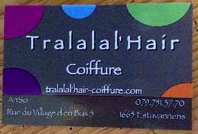 logo Tralalal' Hair